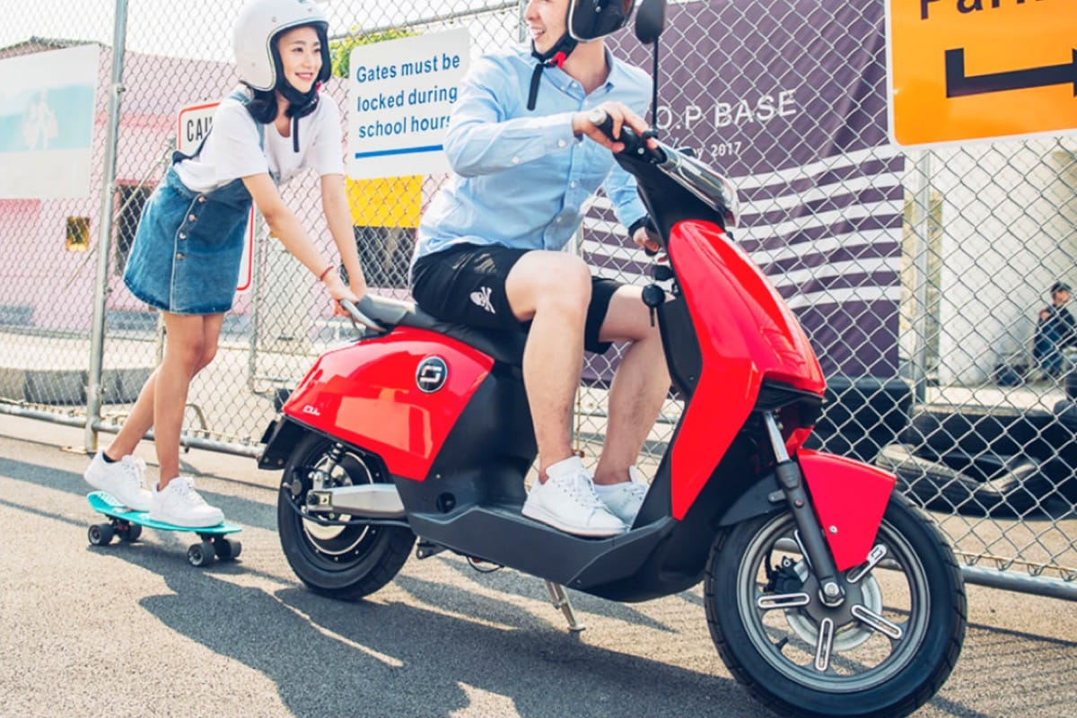 Xiaomi reveals the Super Soco CU electric scooter