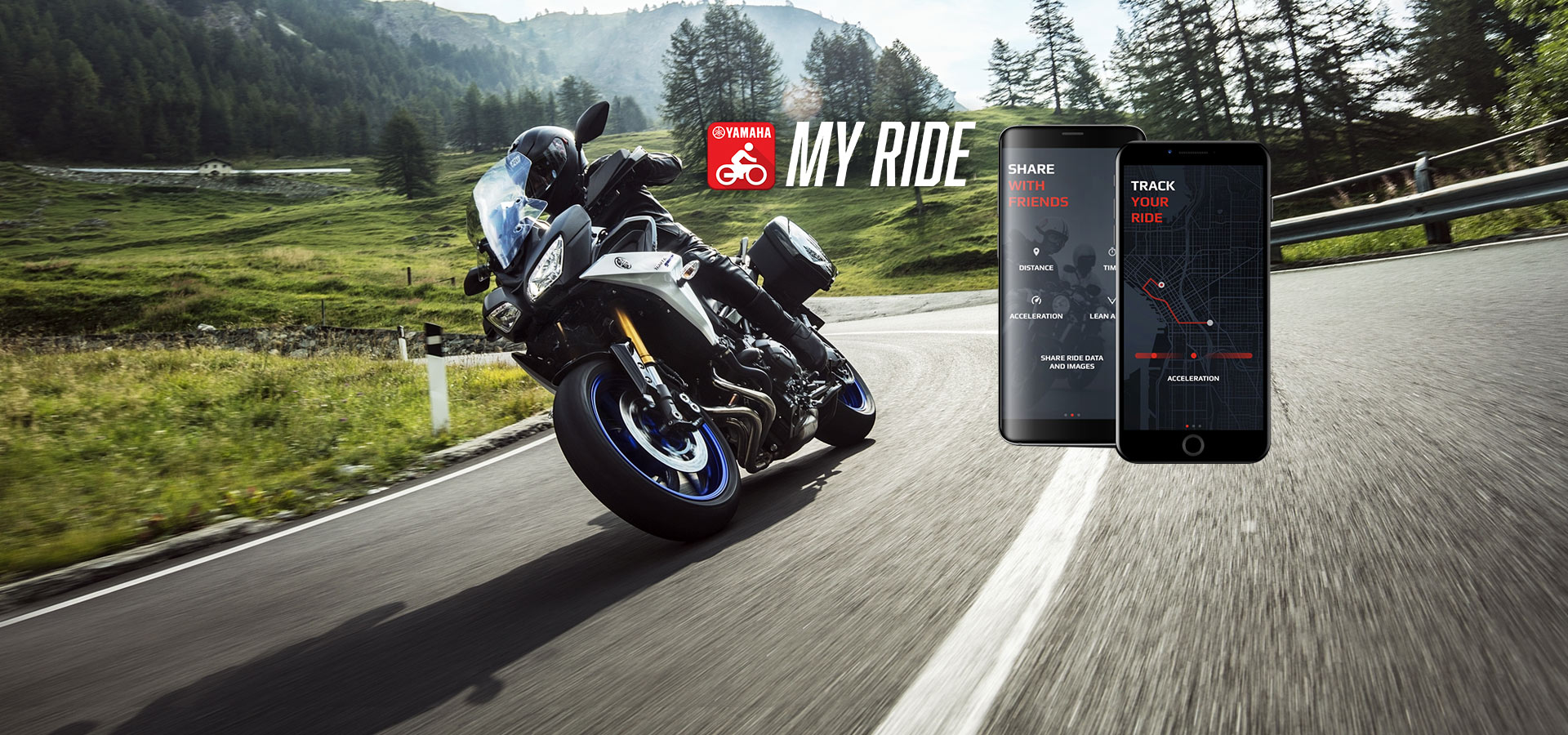 Yamaha launches the MyRide app