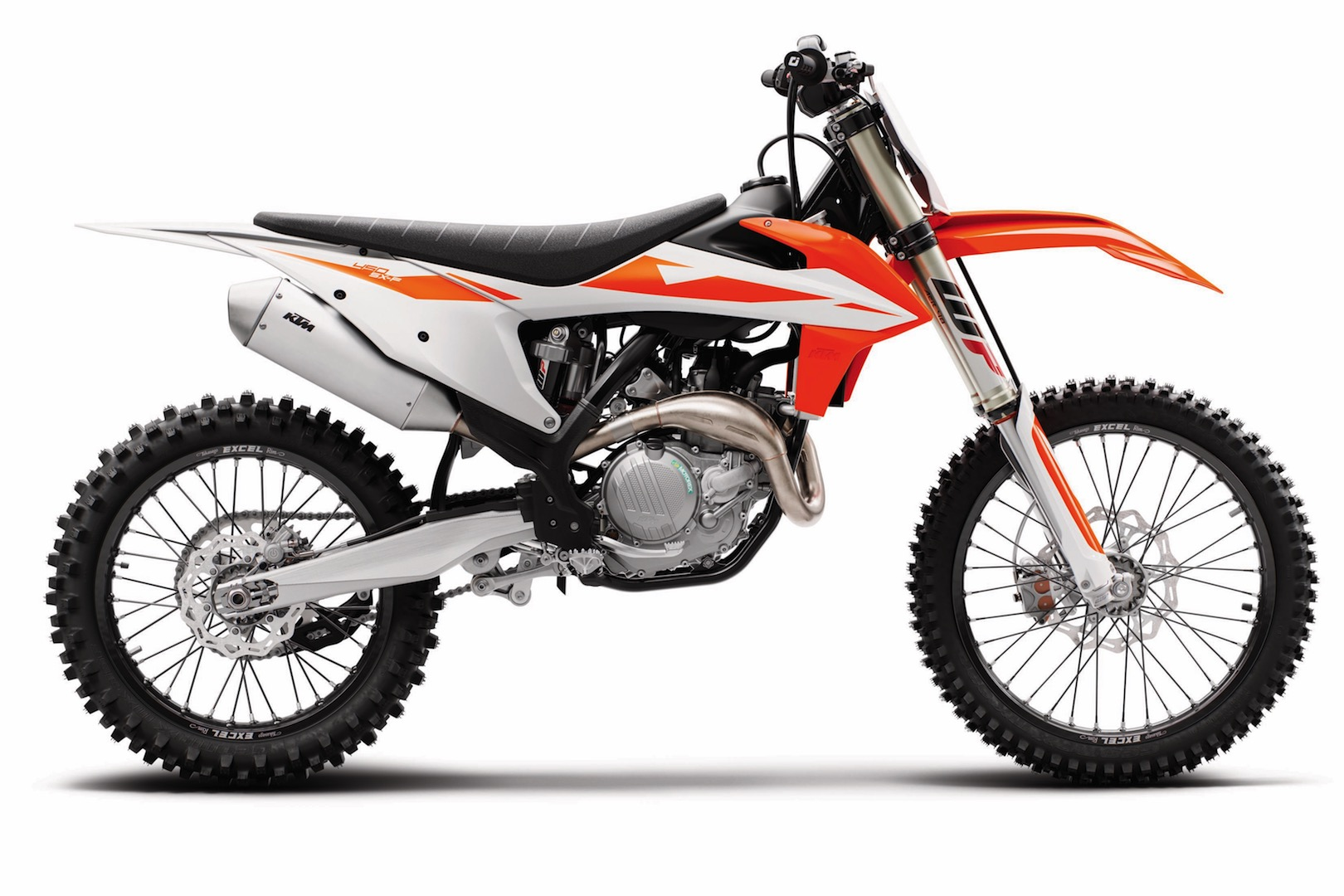 Check out the three upgraded KTM SX-F models from the 2019 lineup