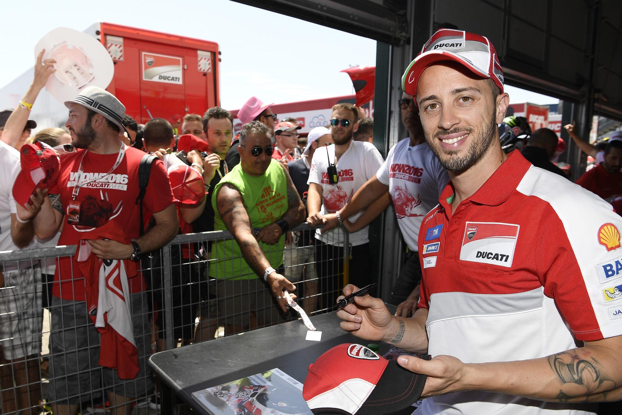 Ducati confirms riders present at the World Ducati Week