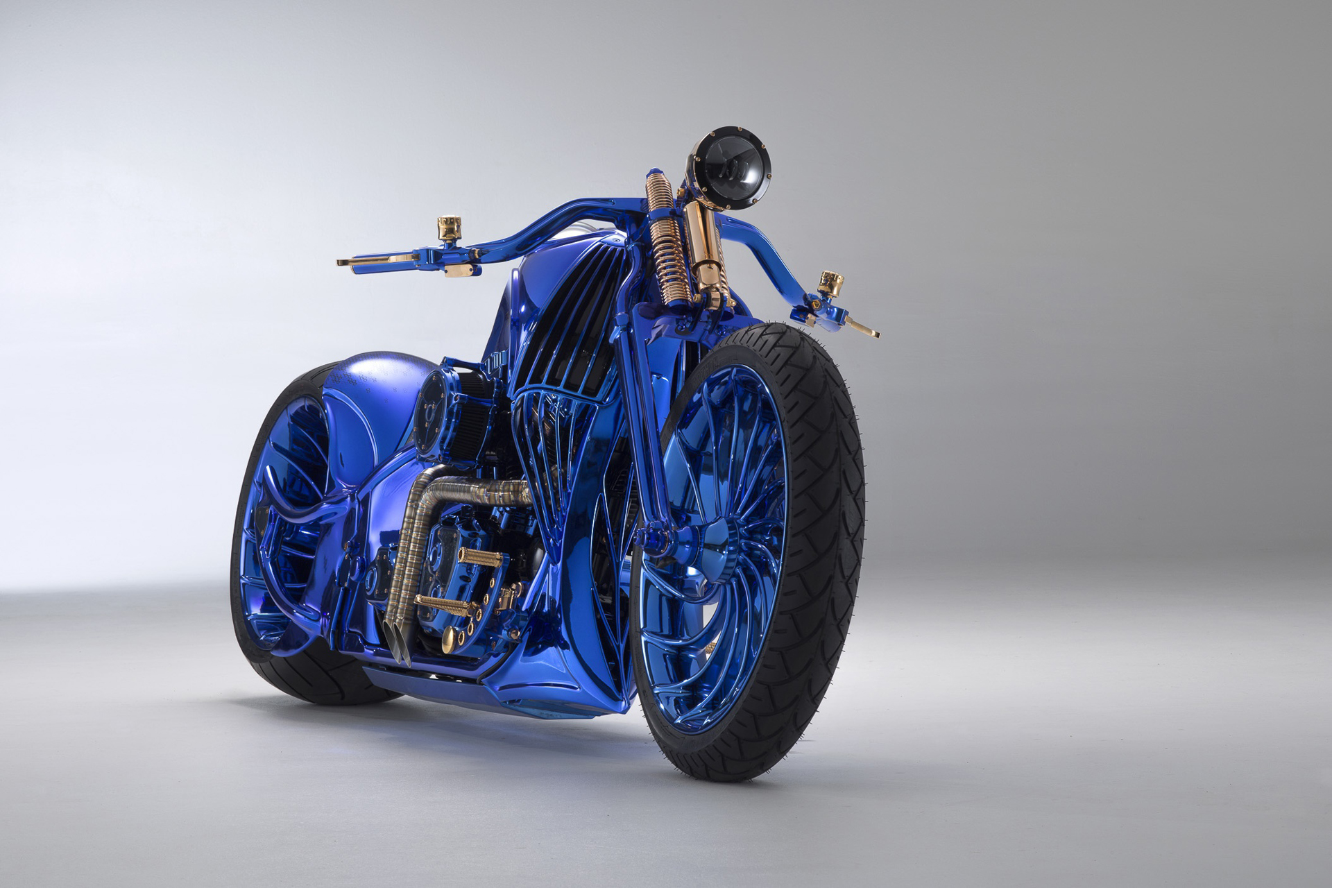 Harley-Davidson Bucherer Blue Edition: the most expensive bike in the world!