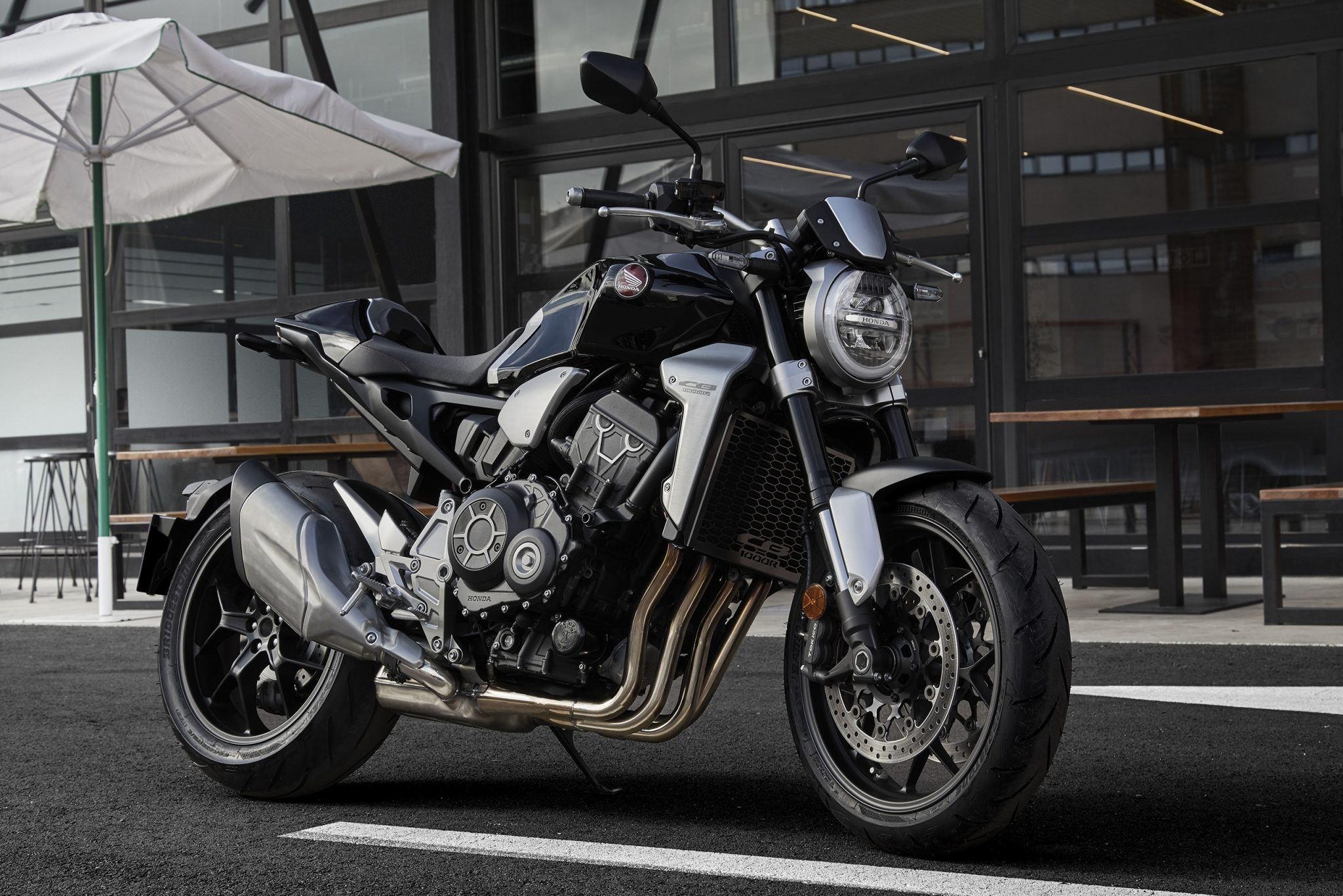 Honda previews the CB1000R and confirms price of Africa Twin and X-ADV