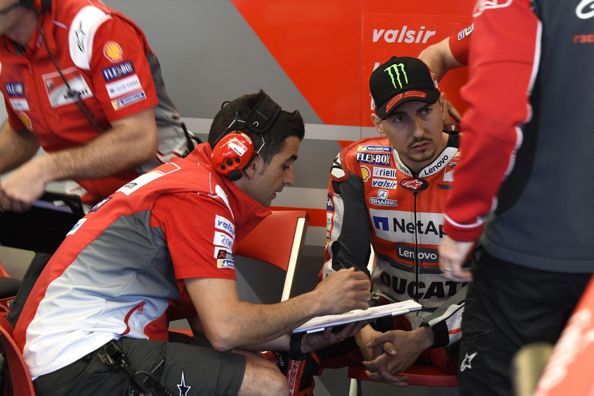 MotoGP – Ducati told Jorge Lorenzo they won't keep him