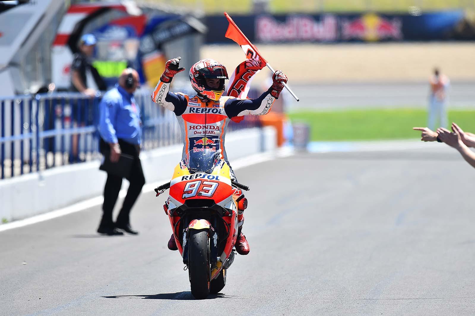 MotoGP – Marc Marquez on track to equal Casey Stoner