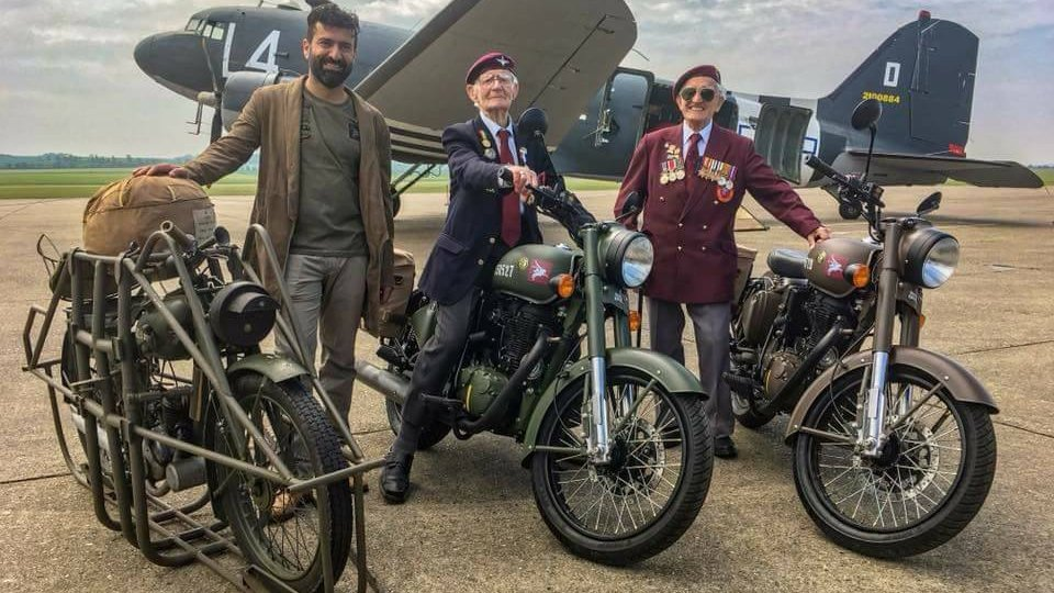 Royal Enfield pays tribute to war heroes with limited edition Classic 500 Pegasus