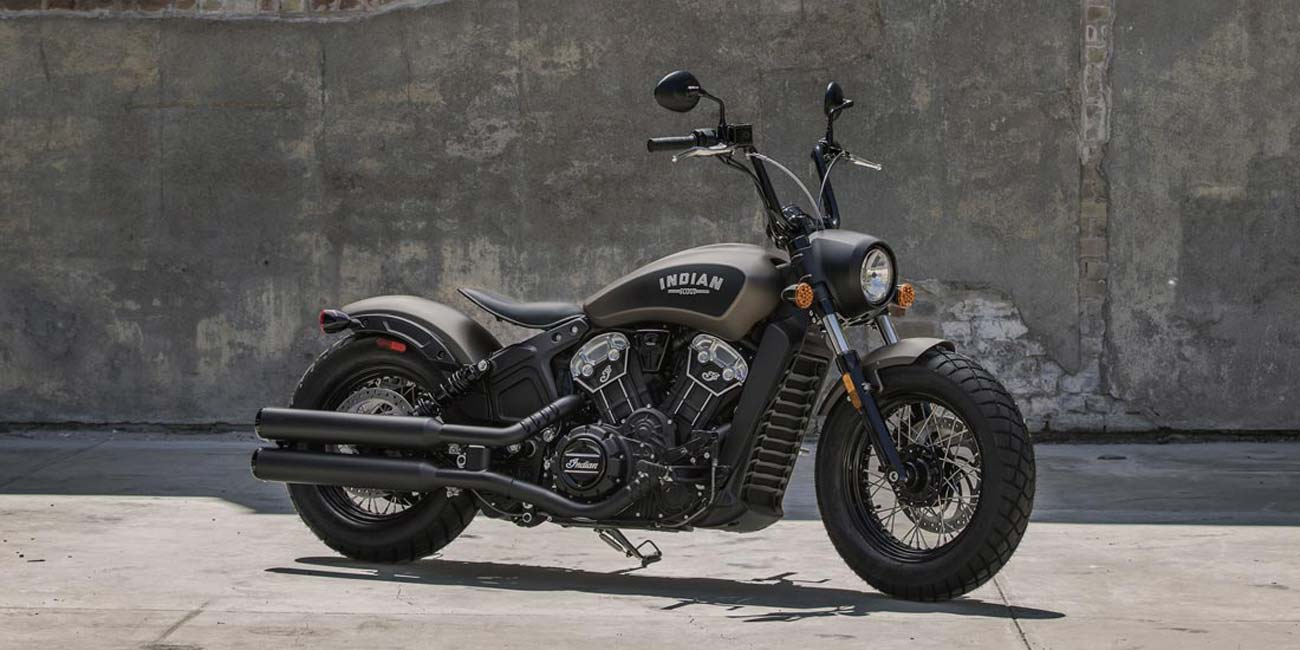 The Indian Scout Bobber is all aesthetics with undeniable performance