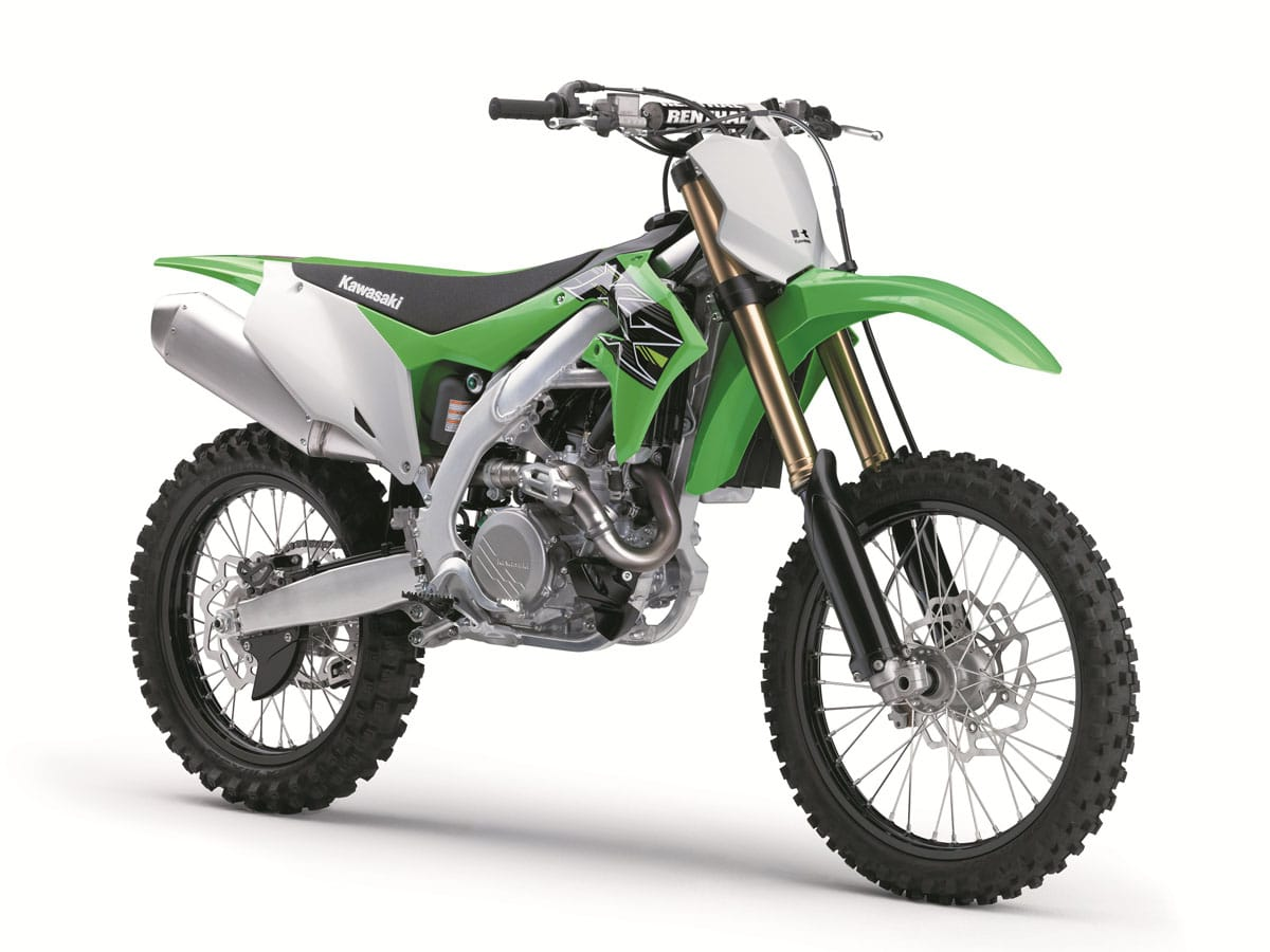 Kawasaki reveals brand new motocrosser KX450F with an electric start