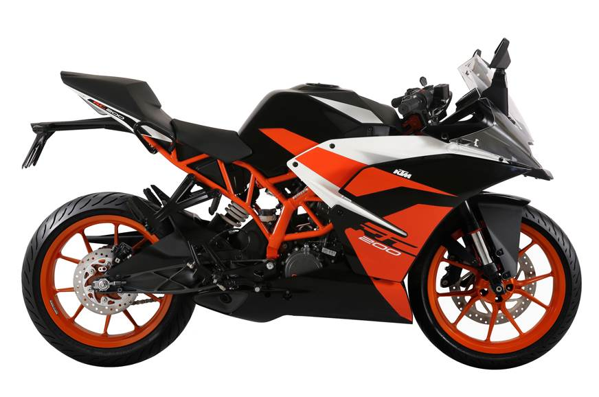 KTM rolls out new black aesthetics for RC200