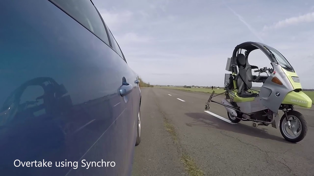 The autonomous motorcycle might help save lives!