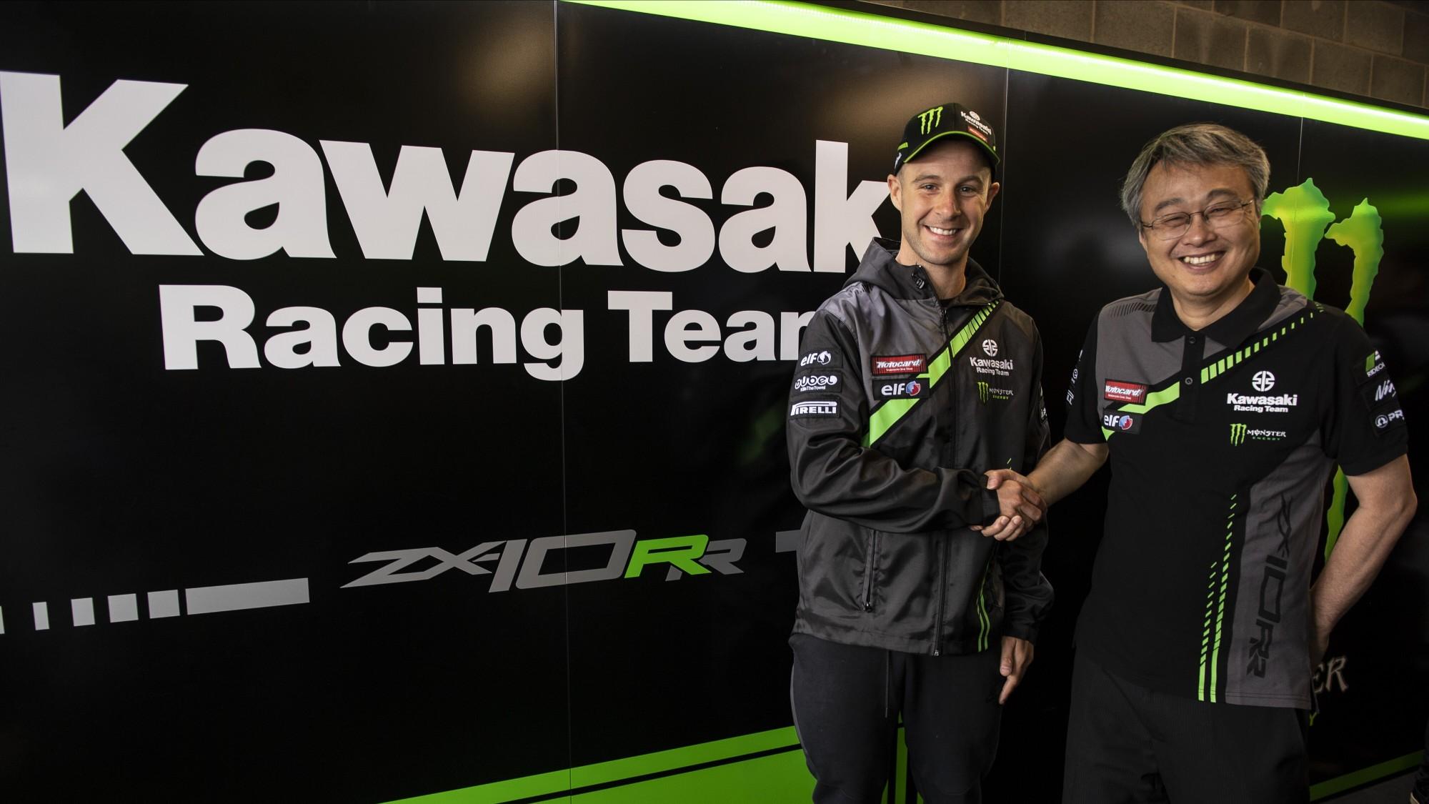 SBK – Jonathan Rea puts an end to speculation and renews with Kawasaki