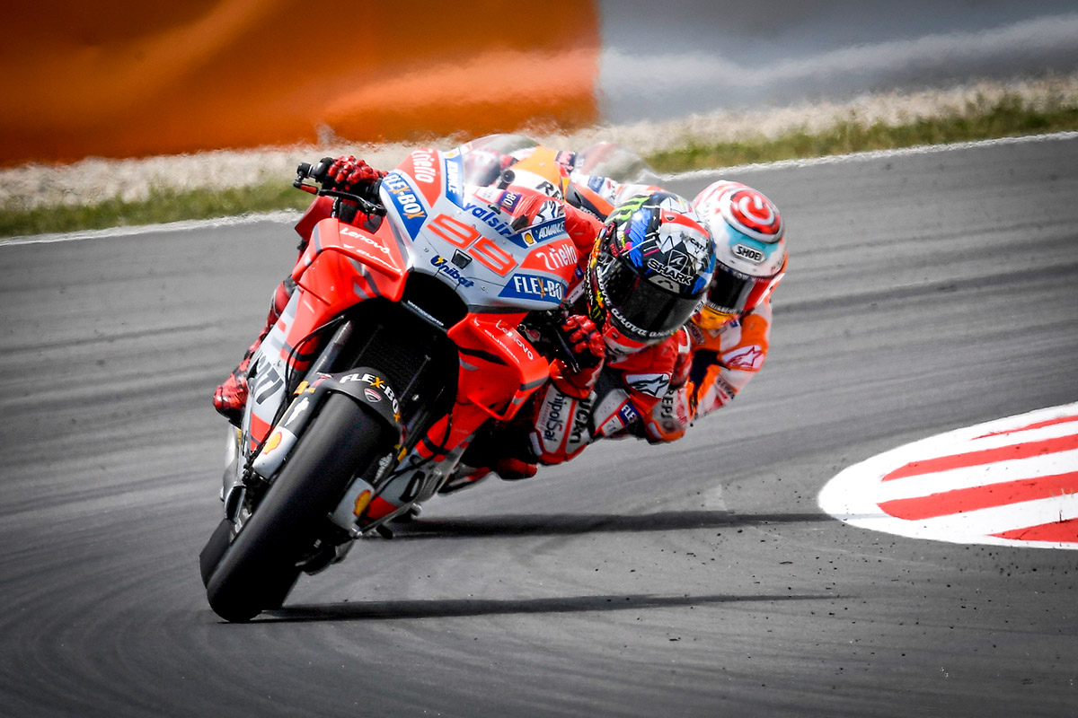 MotoGP Barcelona – Perfect Lorenzo takes second win with Ducati