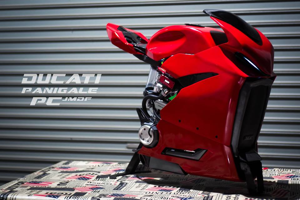 This isn't your normal Ducati Panigale!