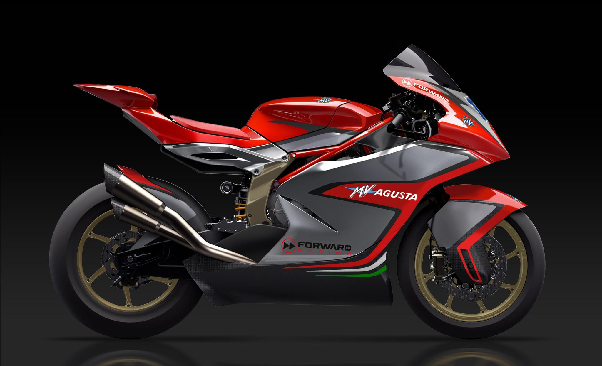 Moto2 – MV Agusta shows their new race bike... and it's stunning!