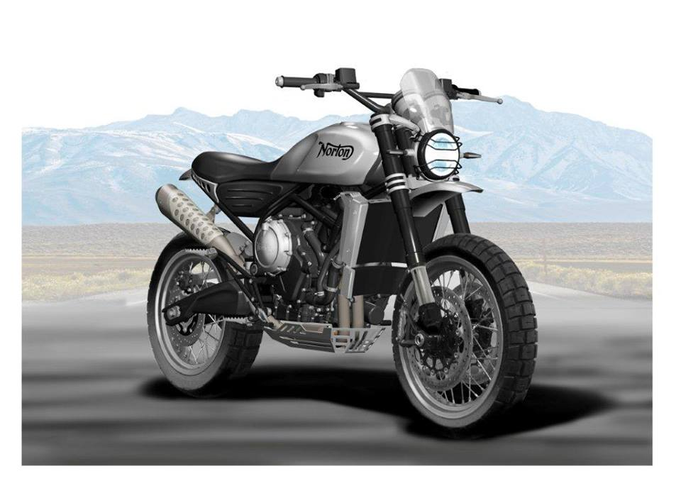 Norton Motorcycles shows the new Atlas 650