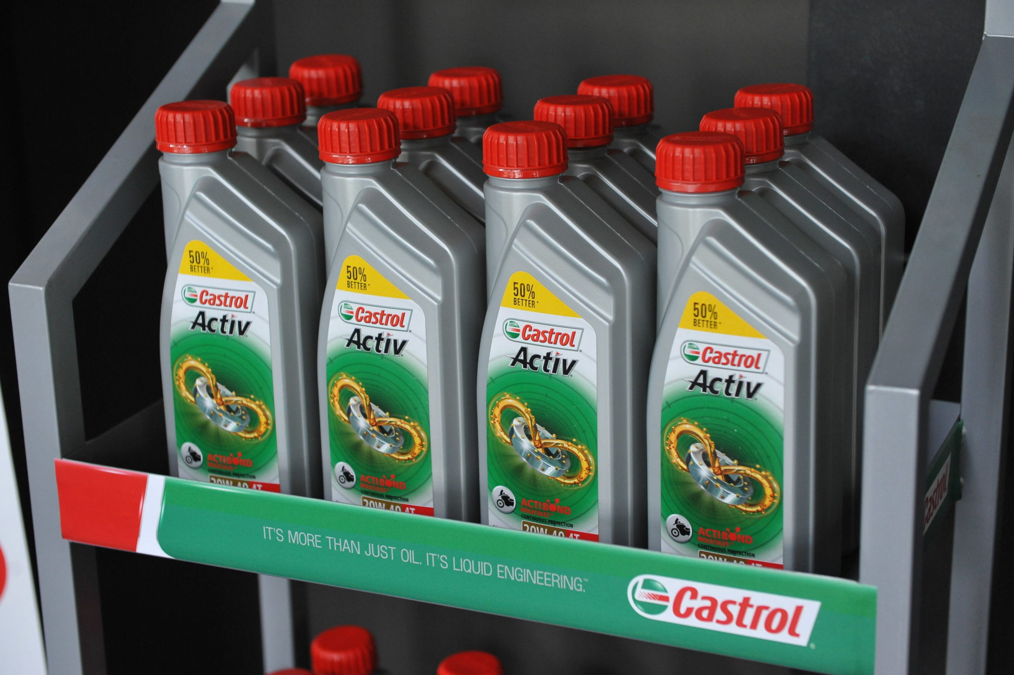 New Castrol Active gives better engine protection