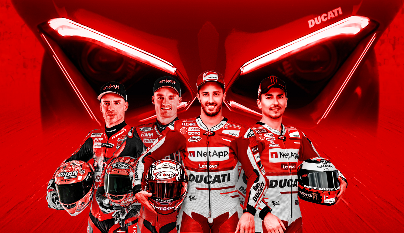 12 Ducati riders will battle in the Race of Champions!