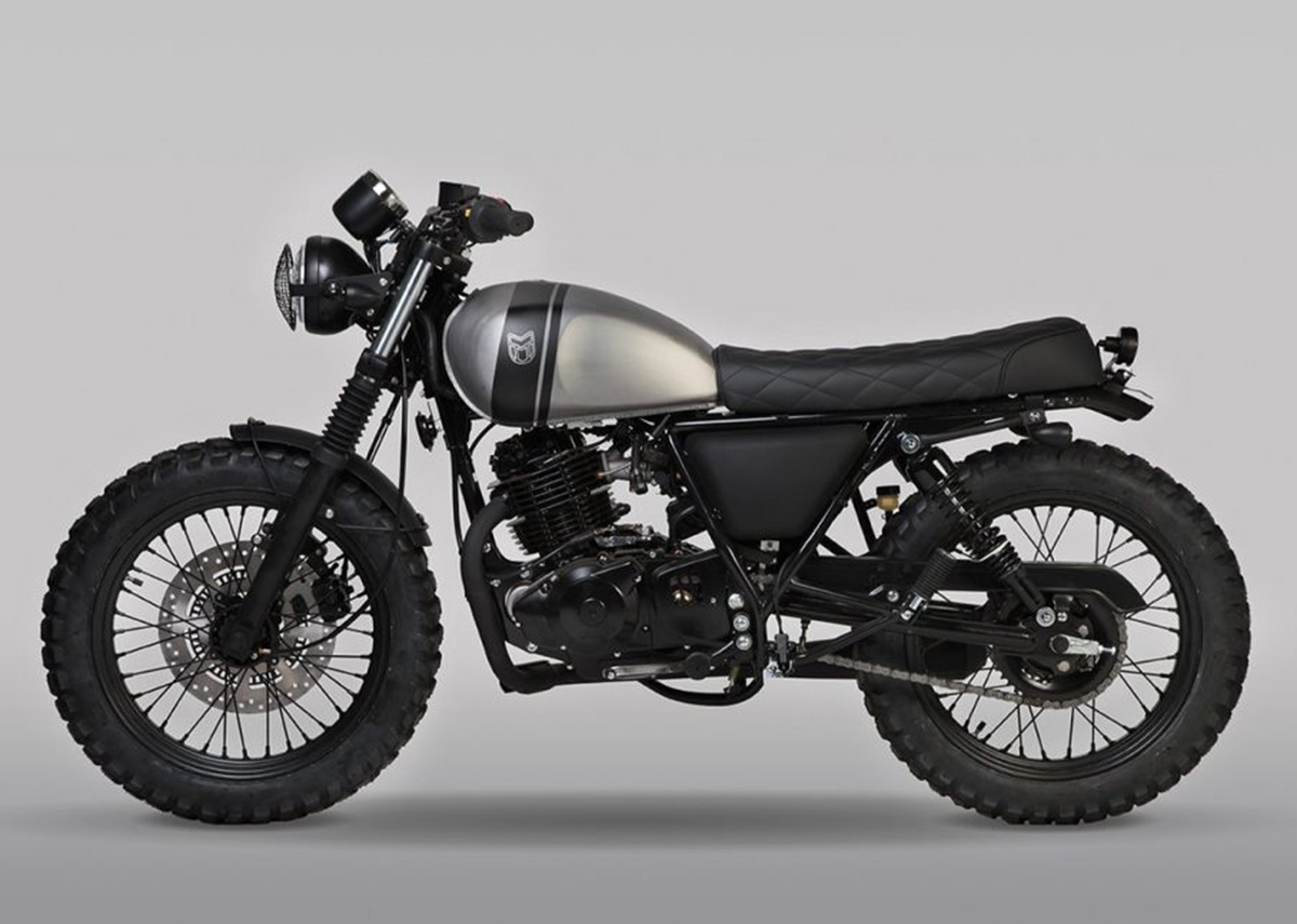 Mutt Motorcycles releases all new black RS-13