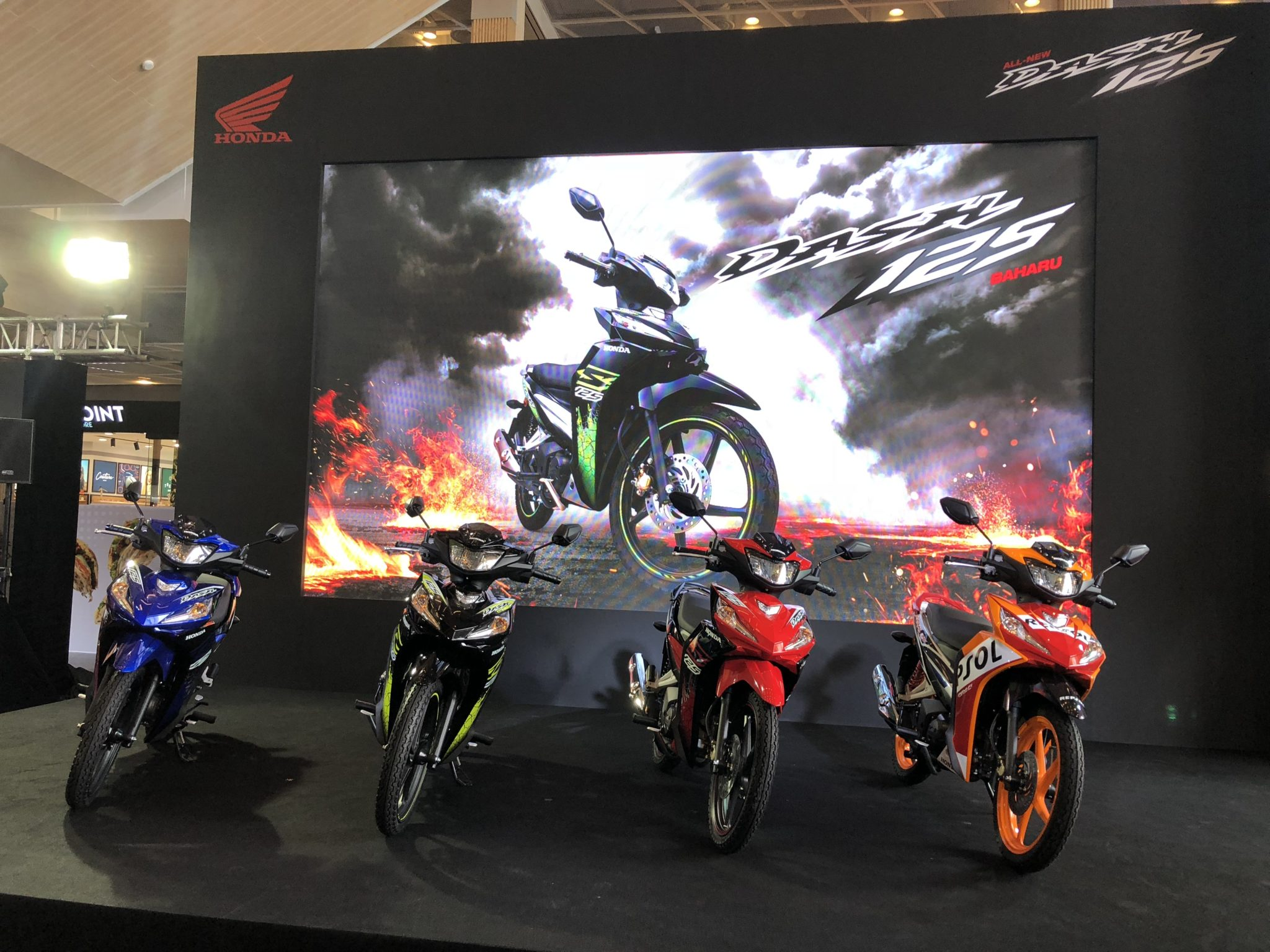 New Dash 125 introduced in Malaysia