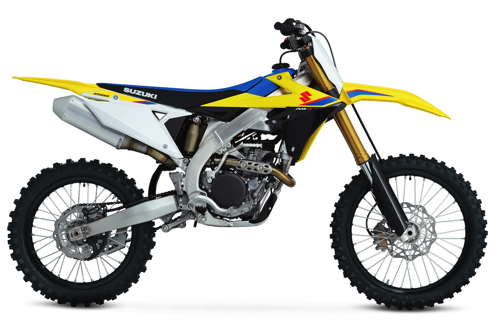 Take a look at the new and improved Suzuki RM-Z250