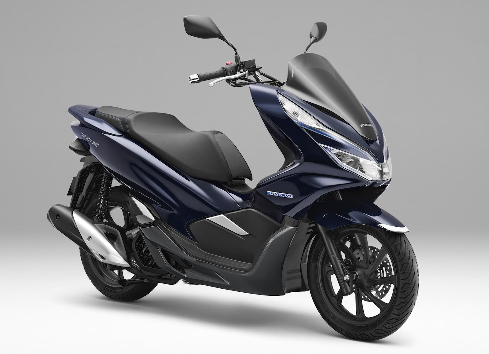 Honda Japan launches first ever hybrid scooter