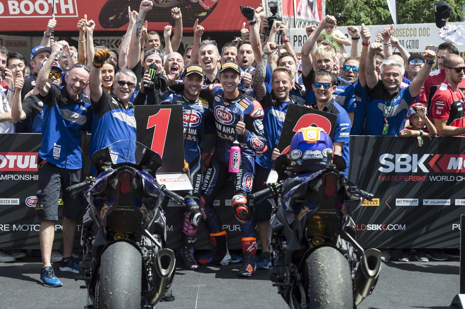 SBK – Yamaha retains Alex Lowes and Michael van der Mark