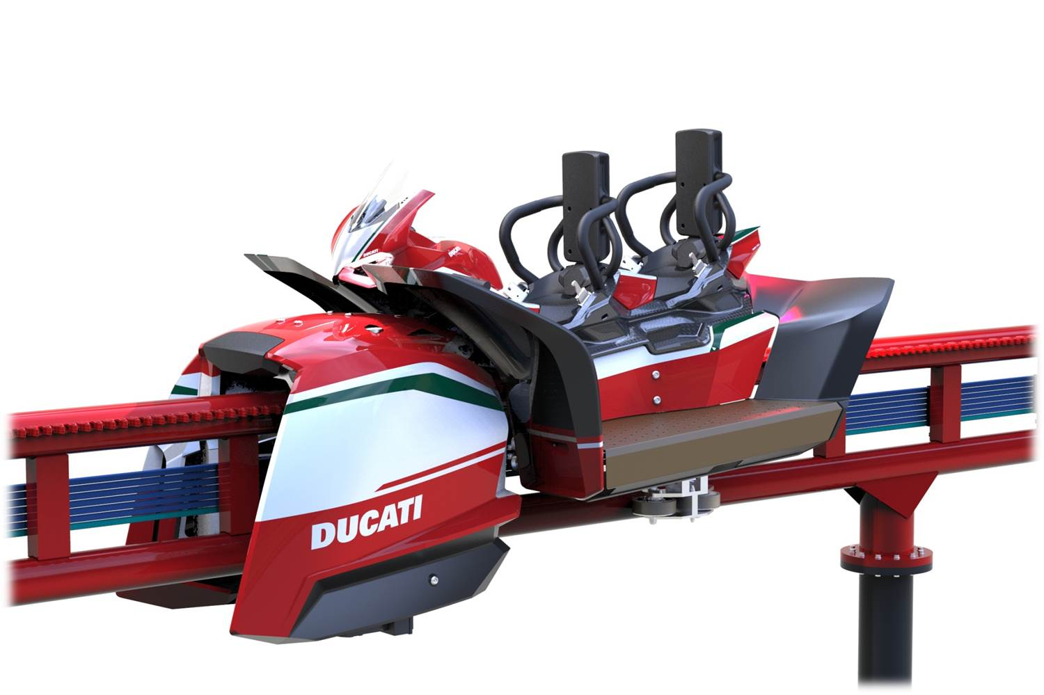 Ducati World theme park building has started