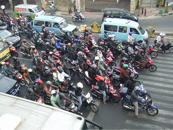 Indonesia posted strong gains in motorcycle sales