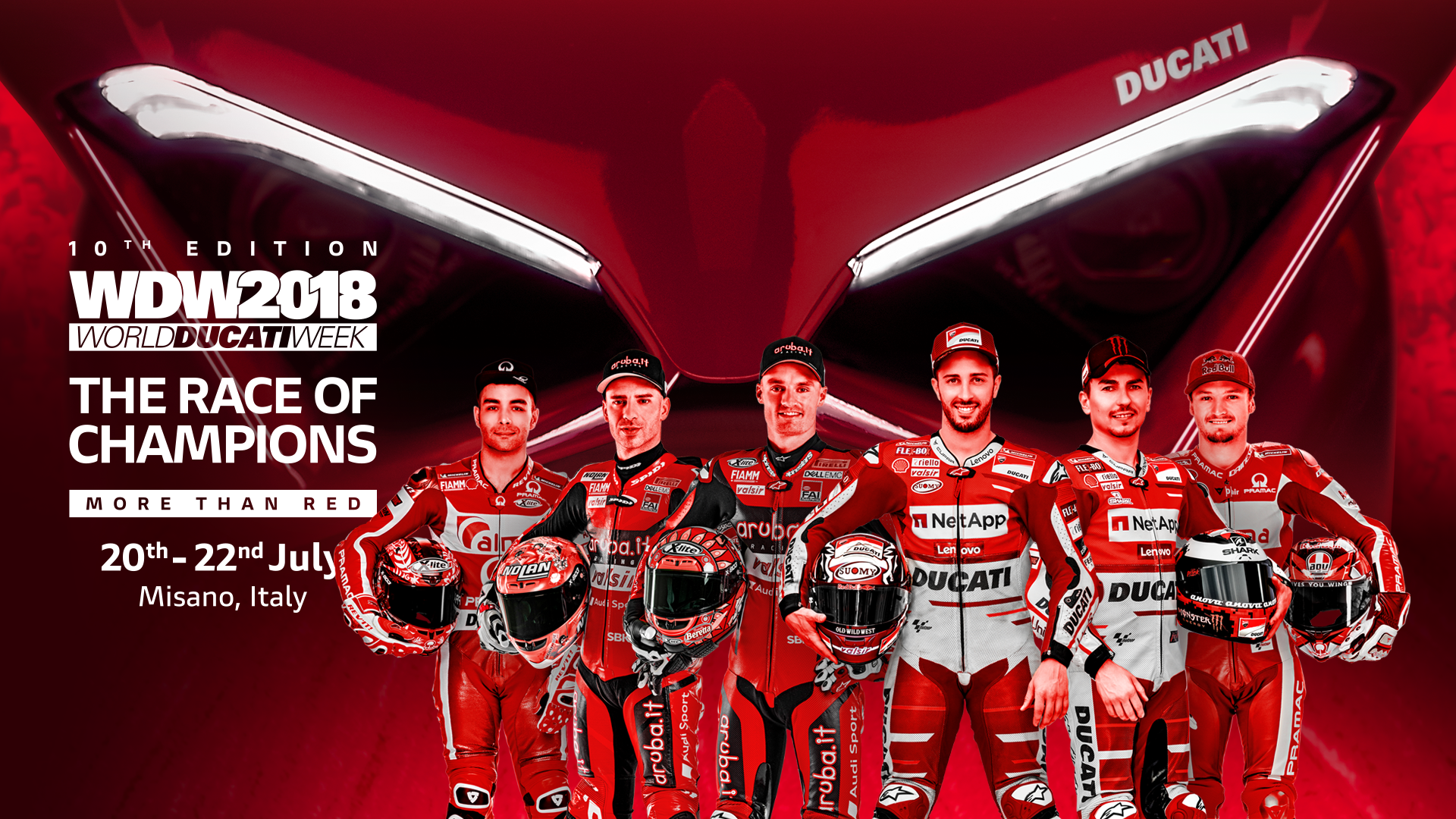 Ducati to auction the 12 Panigale V4S from Race of Champions