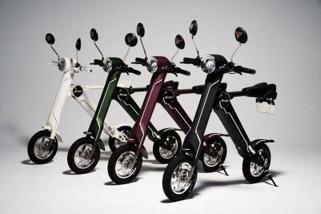 Japan releases compact, foldable Blaze Smart EV