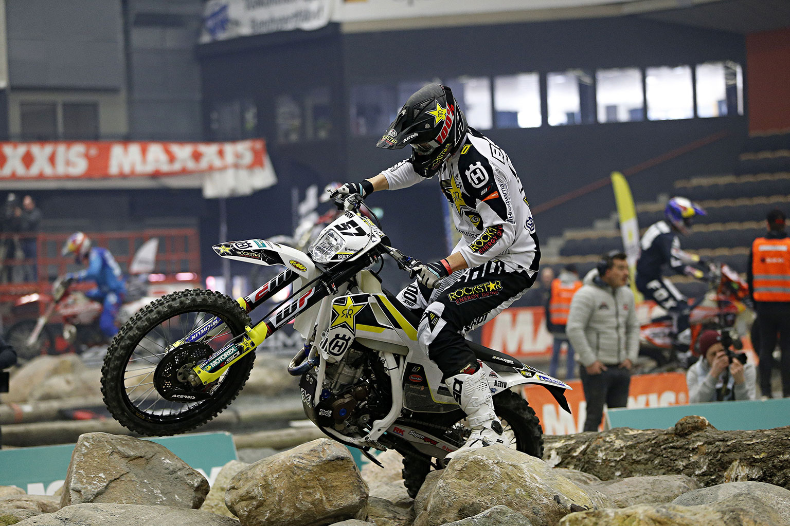 Husqvarna Motorcycles signs new three-year deal with enduro star Billy Bolt