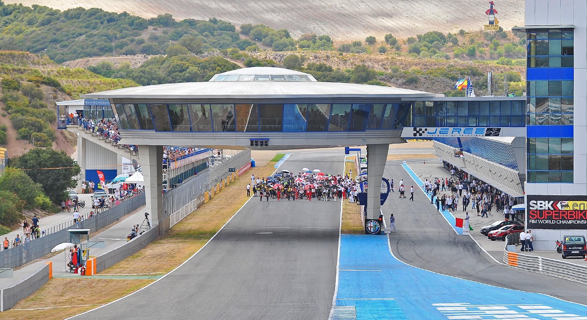 Jerez racetrack secures MotoGP and WSBK until 2021