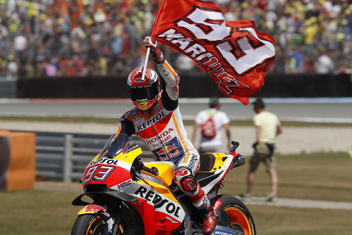 MotoGP – Marquez hits 100th GP in top form