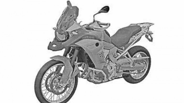 Leaked image shows the new BMW F850 GS Adventure