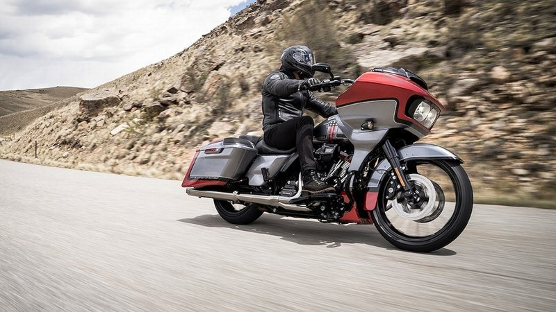 Take a look at the Harley-Davidson CVO models: Street Glide, Road Glide & Limited