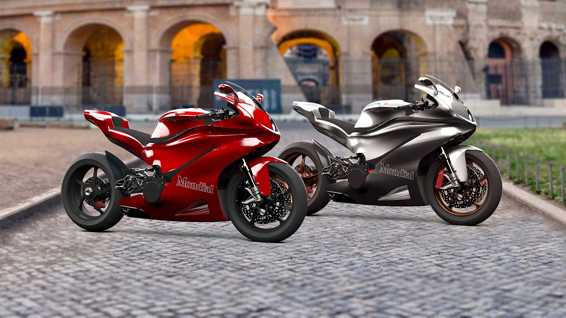 MondialMoto will make a V5 superbike with 200 hp