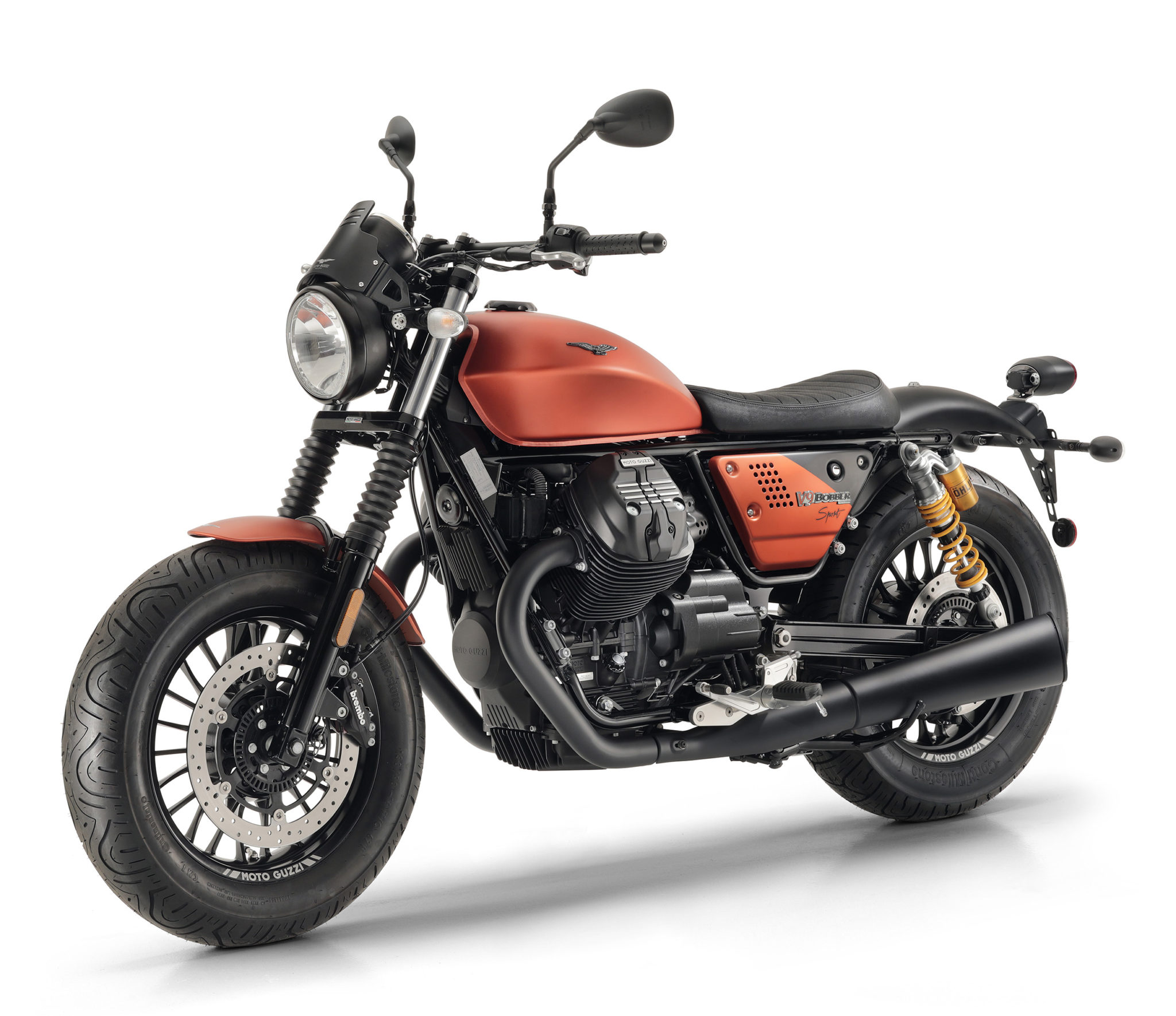 Moto Guzzi adds the Sport variant to the cool V9 Bobber line-up