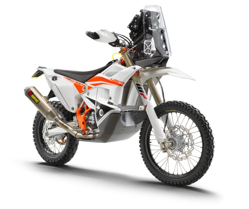 KTM unleashes the 2019 450 Rally Replica