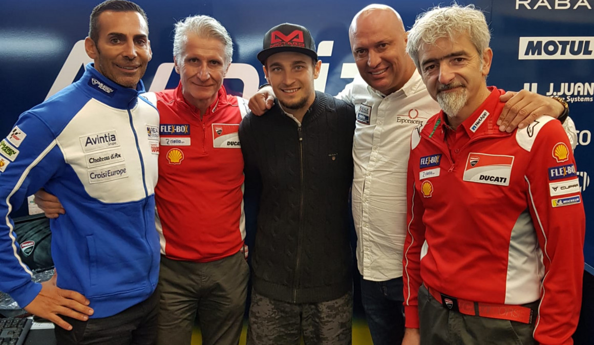 MotoGP – Karel Abraham signs with Reale Avintia Ducati until 2020