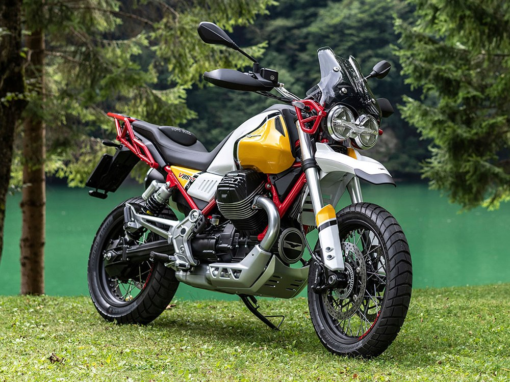 Moto Guzzi V85 TT finally breaks cover and it's gorgeous!