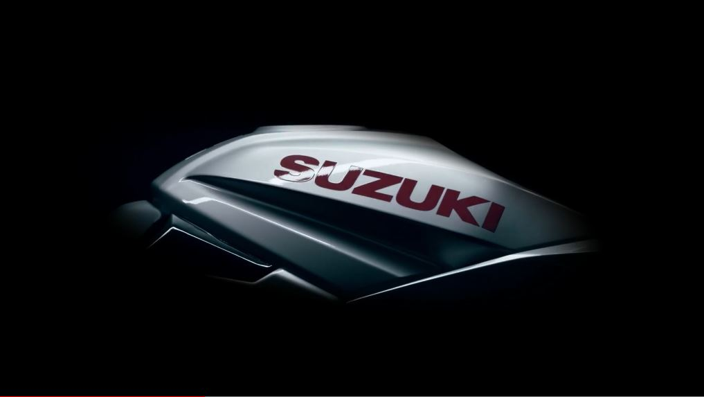 First glimpse at new Suzuki Katana fuel tank
