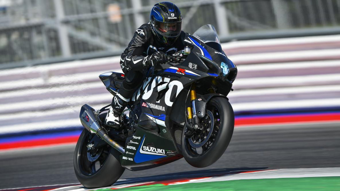 Suzuki Italy goes the extra mile and shows the track only GSX-R1000R Ryuyo