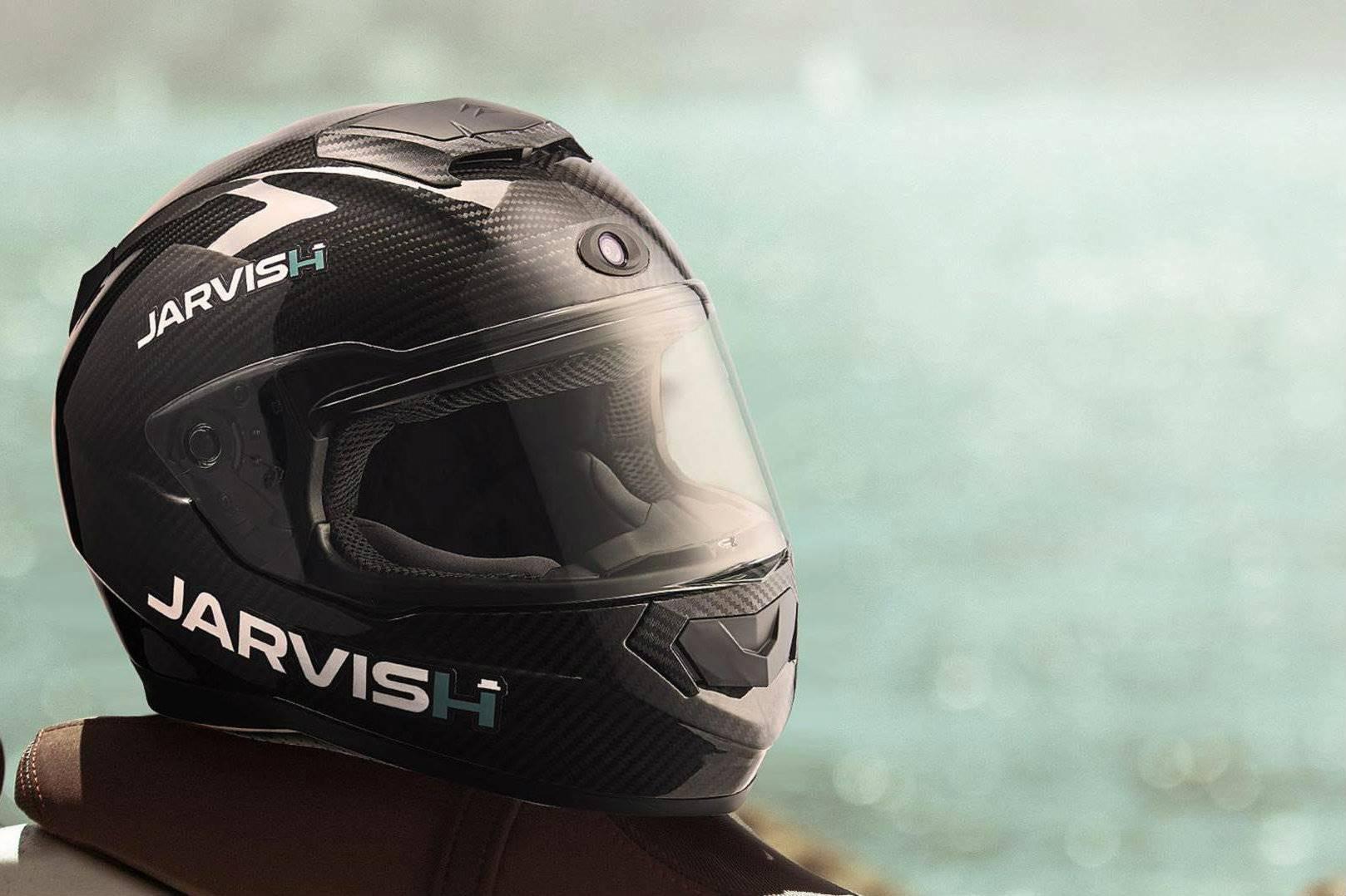 Jarvish X-AR: a futuristic helmet