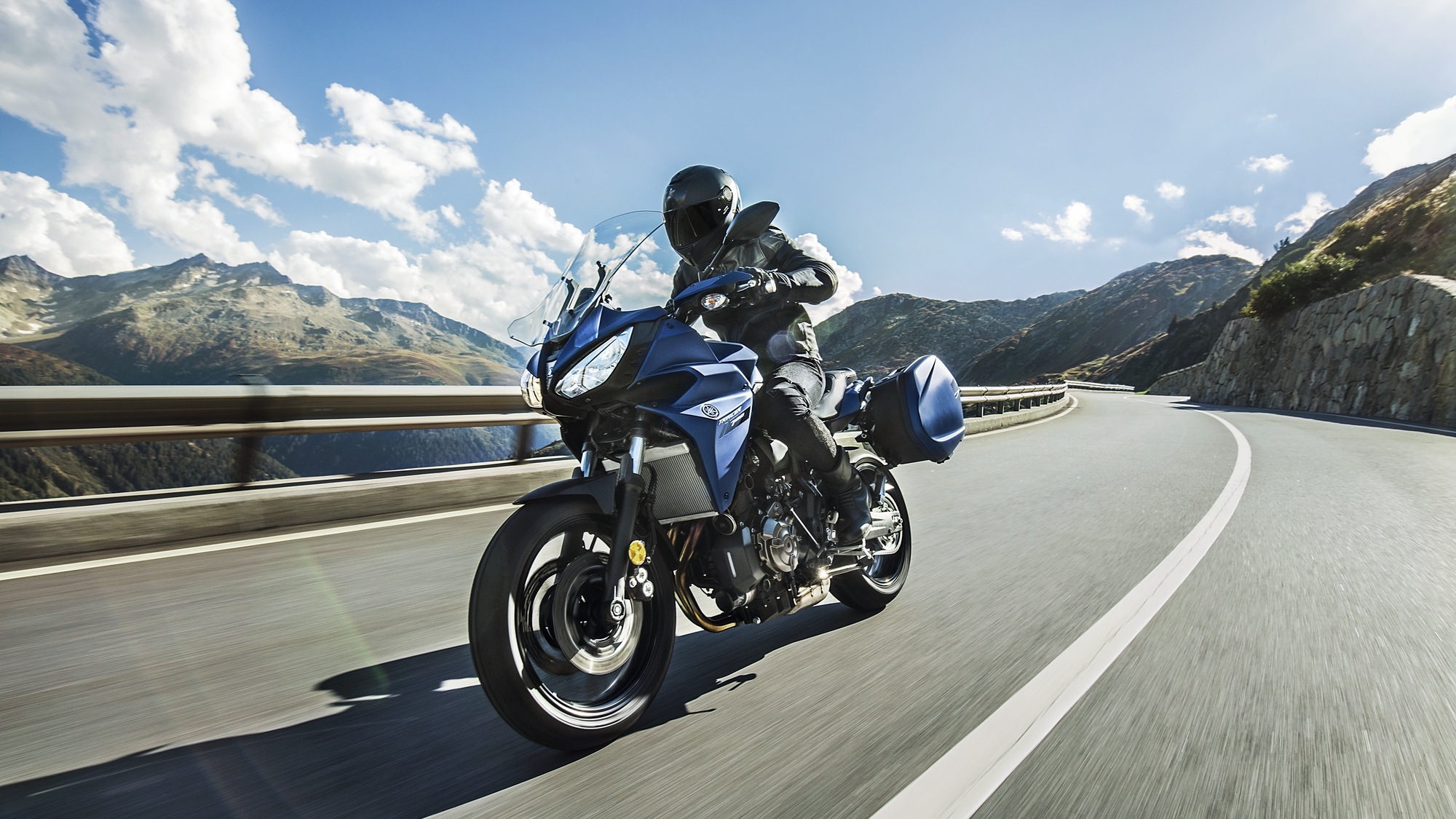Yamaha unveils all new 2019 Tracer 700GT