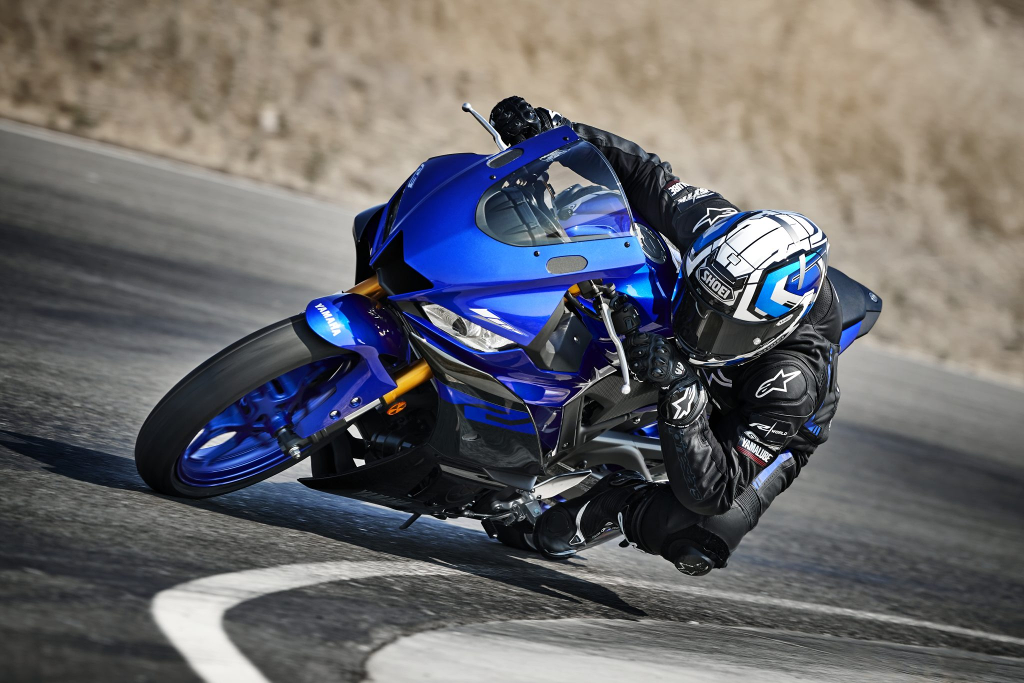 New Yamaha YZF-R3 ready to hit the track in 2019