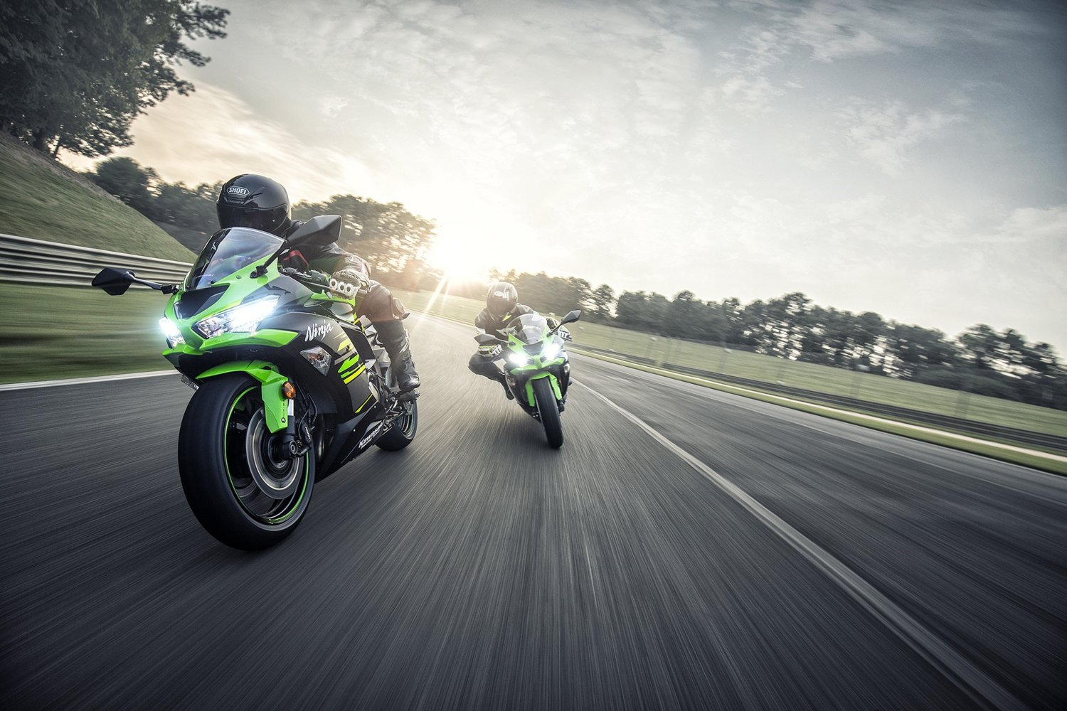 Ninth generation of the Ninja ZX-6R shows its new face