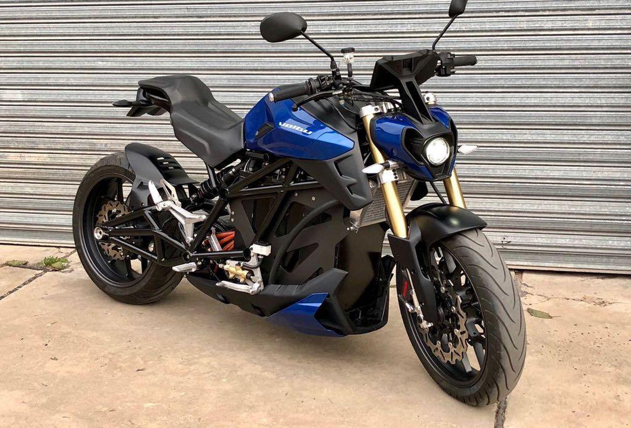 Voltu Motors breaks the silence with on their Motu-X electric motorcycle