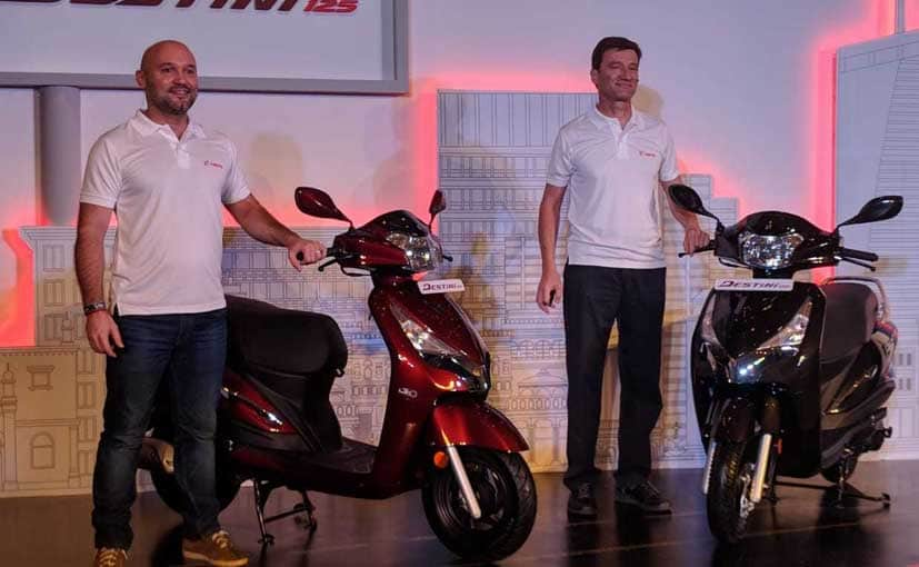 Hero MotoCorp launches first ever 125cc scooter Hero Destini 125