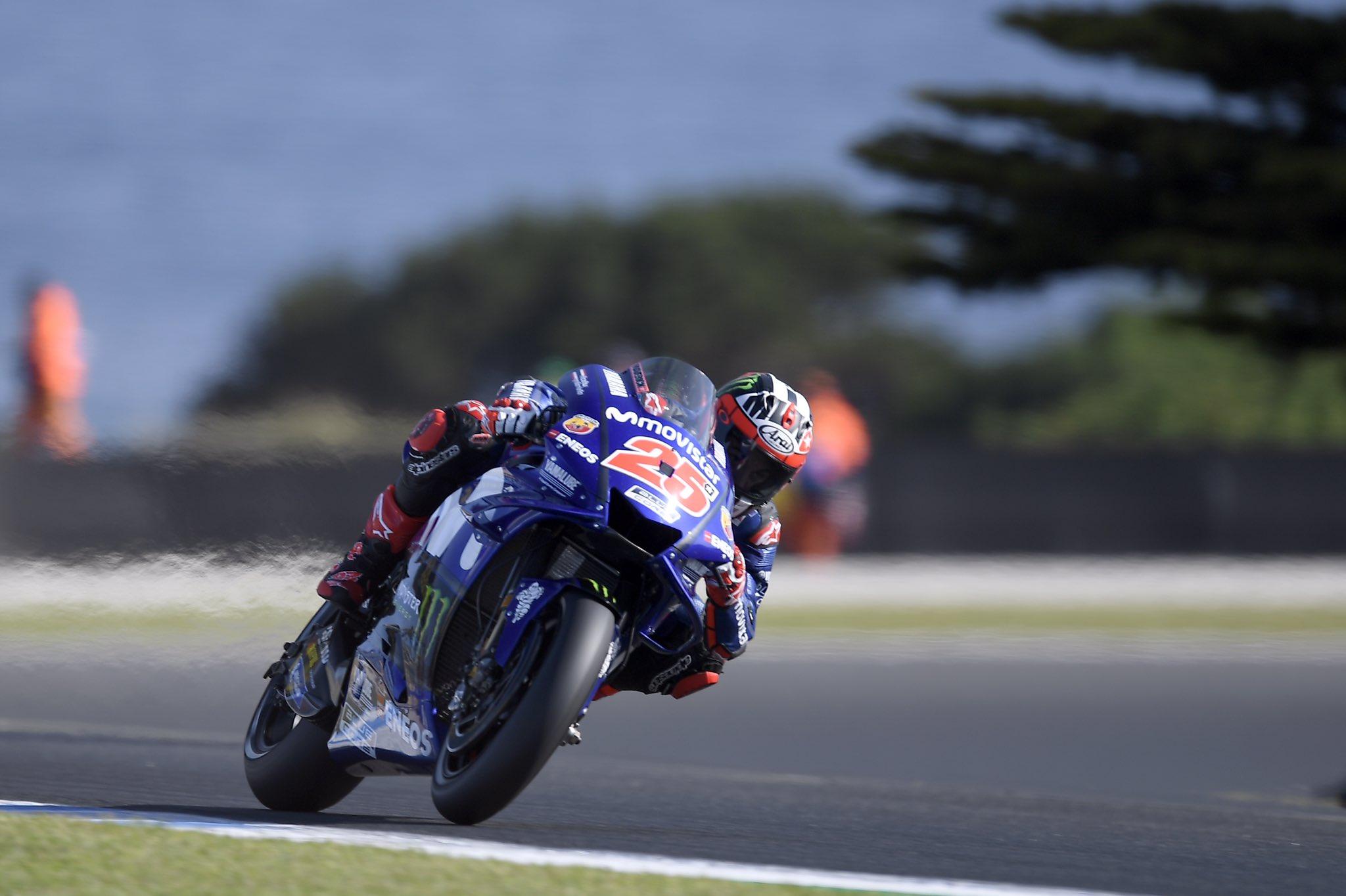 MotoGP – Viñales ends Yamaha winless streak with Australia win
