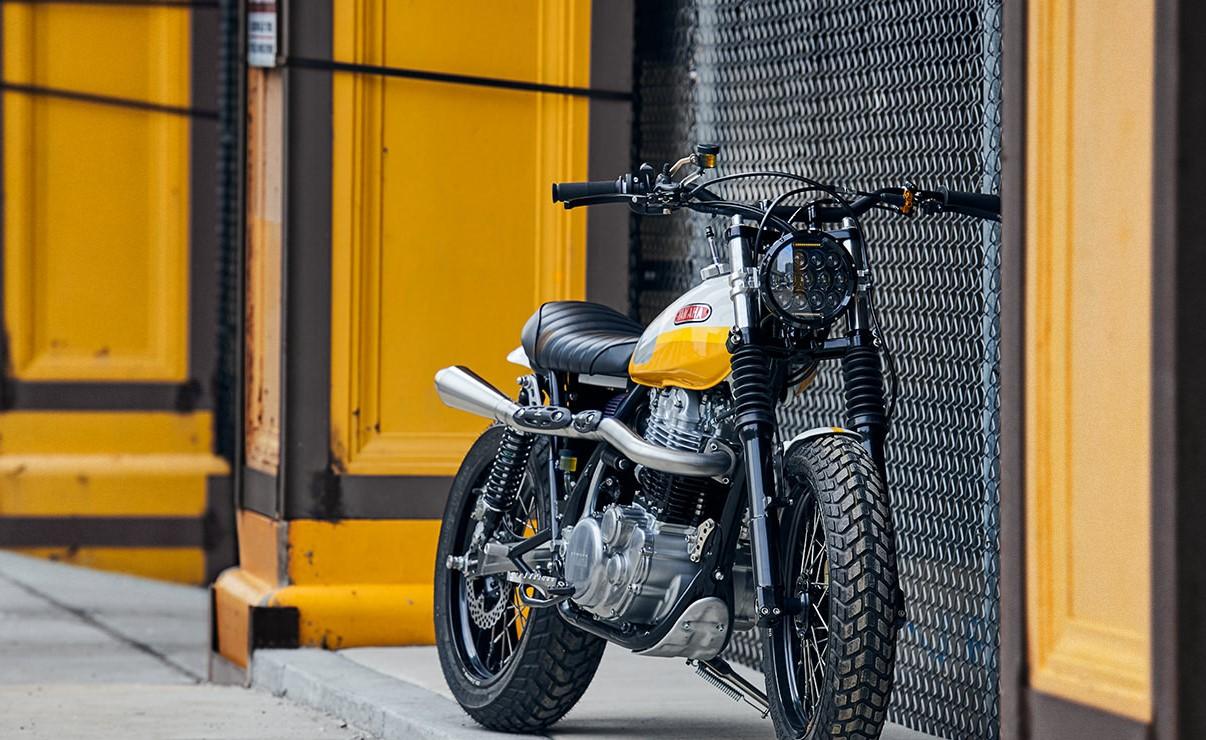 customized Yamaha SR500 Scrambler by Daniel Pieter – Keep it simple!