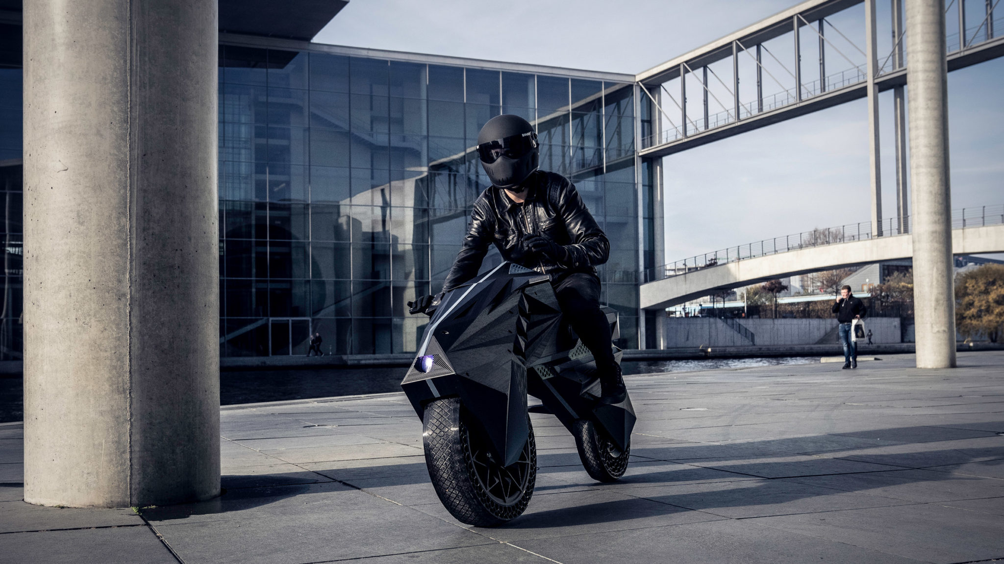 The Nera is the first 3D printed motorcycle